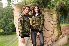 Camouflage-Shirts von MALFINI bei Nickifabrik.de