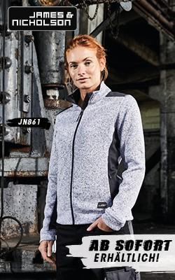 James Nicholson Ladies Workwear Fleece Jacket