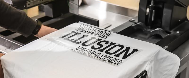 Textildruck, T-Shirt-Druck