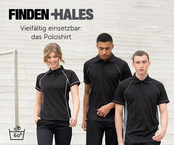 Finden+Hales - Vielfältig einsetzbat: das Poloshirt
